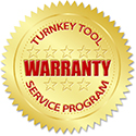 Turnkey Tool Service Program Warranty